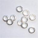 Zilveren kernen 4,0 x 3,7 mm