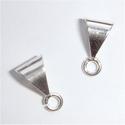 Sterling zilveren hangertje met open oogje