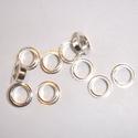 Zilveren kernen 5,0 x 4,6 mm met 925 merk