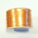 SK25 - Satijn koord oranje, 5 meter