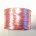 SK16 - Satijn koord roze, 5 meter
