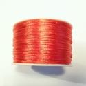 SK08 - Satijn koord rood, 5 meter